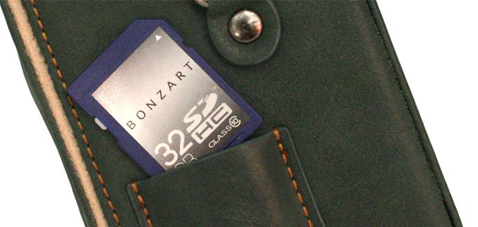 BONZART SDカードポケット