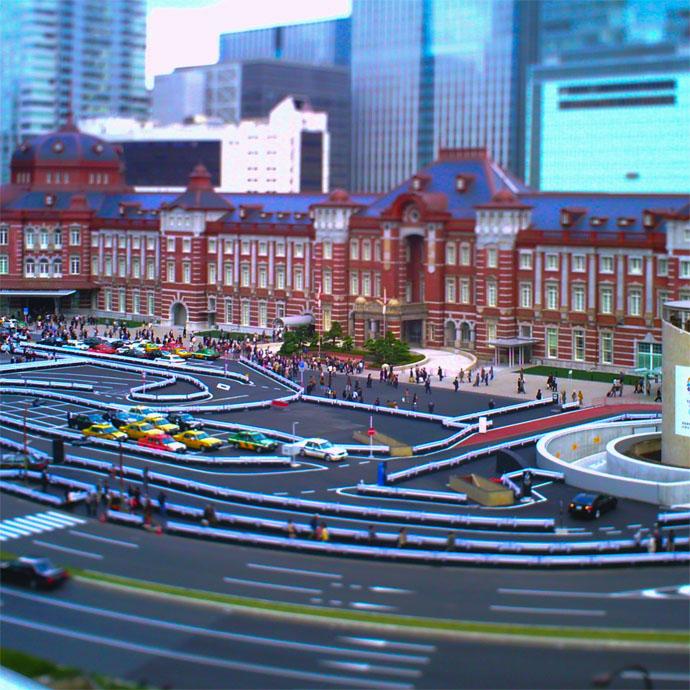 AMPEL作例 東京駅ロータリー